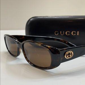 GUCCI Women's Sunglasses Tortoise GG-2967 Italy